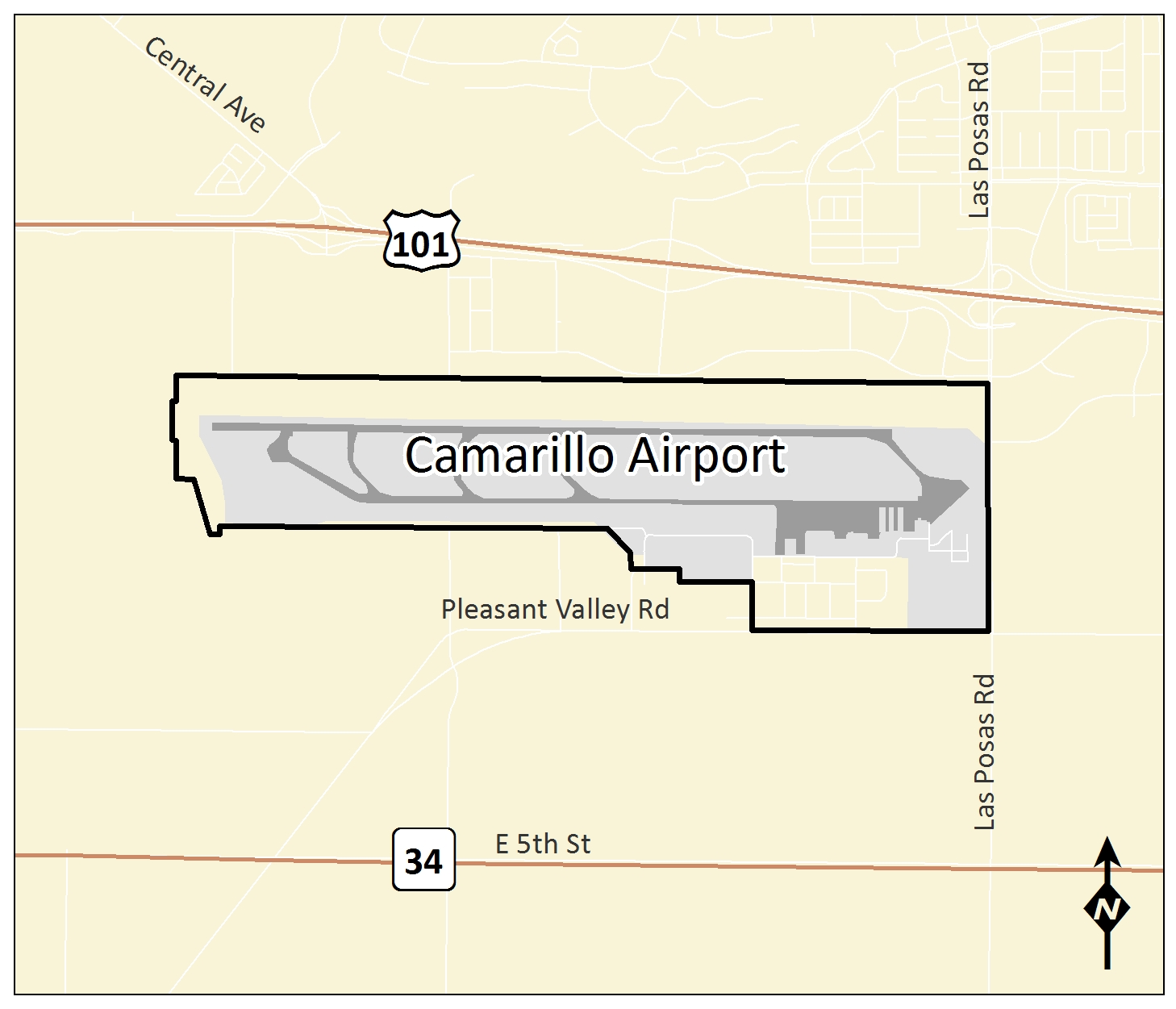 Camarillo Airport on