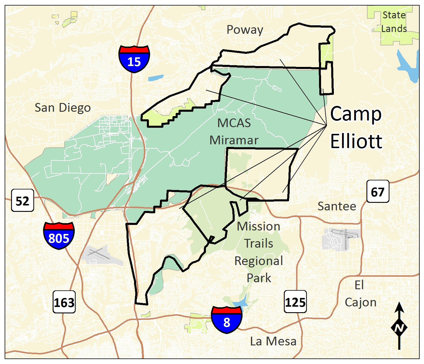 Los Angeles District Missions Formerly Used Defense Sites Camp