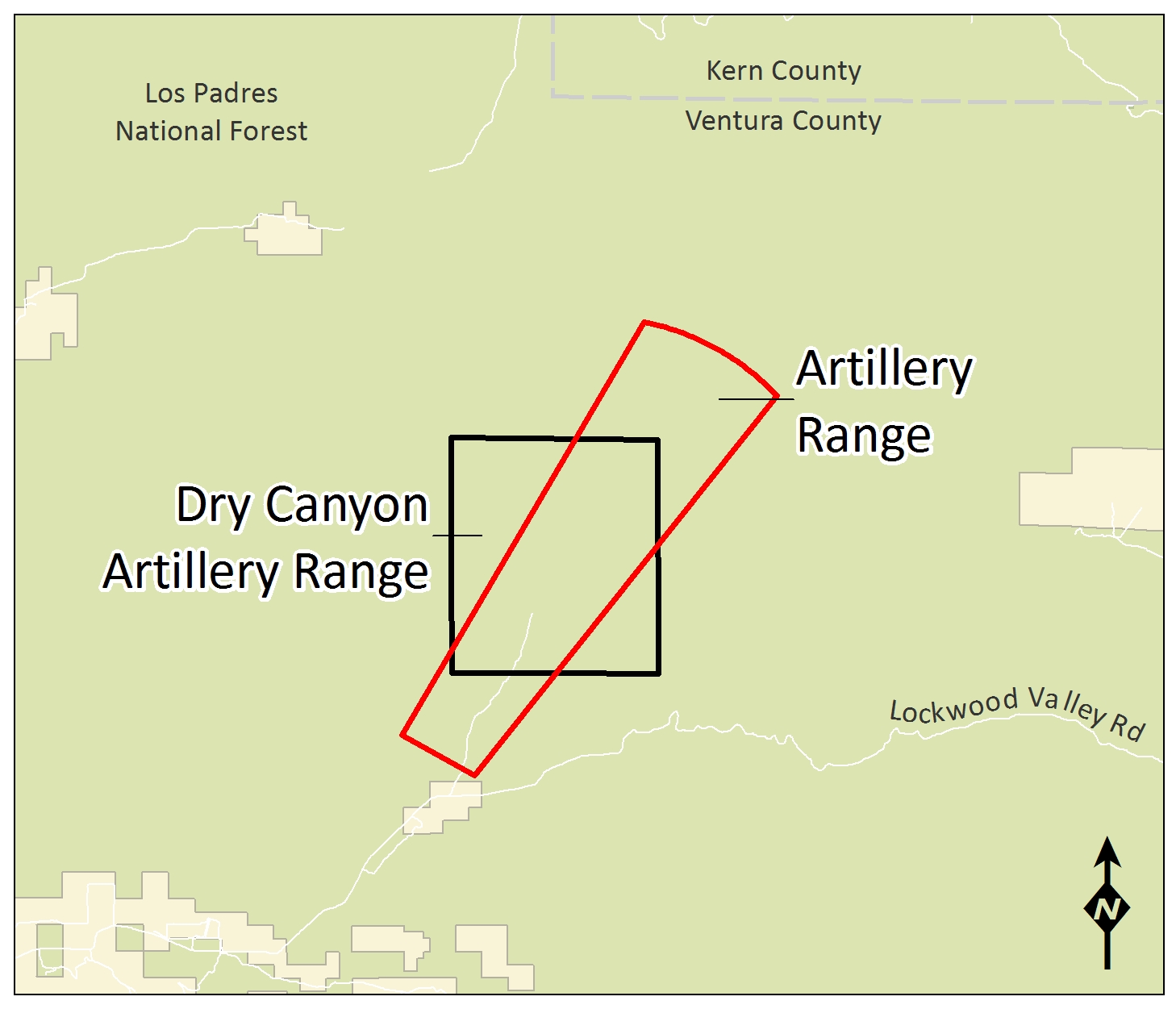 Dry Canyon Artillery Range